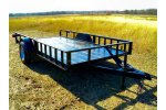 Model SAUT0010 - Single Axle Utility Trailer
