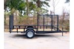 Model SAUT0007 - Two Gated Utility Trailer