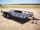 Model TAUT0002 - Angle Top Light Duty Trailer