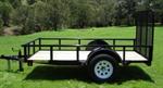 Model UT5010W03L - Lowboy Utility Trailers