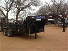 Load Trail - Model 16x83 - Gooseneck Dump Trailer
