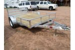 H&H - Model Rail Side Aluminum - Open Utility Trailer