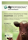 DG Professional - Large Feedlot Management software Brochure
