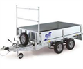 Model LT Series - Flat Bed Trailer
