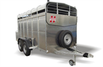 Twin Axle Livestock Trailers