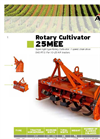 ACKER - 25MEE - Rotary Cultivator - Brochure