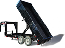 Dump Trailers with Gooseneck