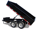 Longhorn - Model 3.5 Ton - Hydraulic Dump Trailer