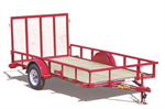 Big Tex - Model 30SA & 35SA - Single-Axle Trailers