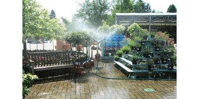 Total Coverage Sprinklers for the Outdoor Areas