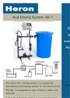 Model AD-1 - Acid Dosing System Brochure