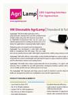 ALIS - Model 9W ES26/27 - LED Llight Bulb Lamp - Brochure