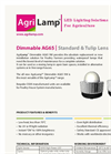 ALIS - Model 11W ES26/27 - 100W Incandescent LED lamps - Brochure