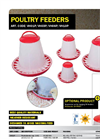 Model VH01P - Poultry Hopper Feeder Brochure