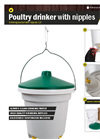 Model 12L - Drinking Bucket with Nippels Brochure
