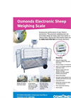 Osmonds - Model SP109 - Heavy Duty Electronic Weighing Scales Brochure