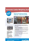 Osmond - Model SP108 - Cattle Weighing Scales Brochure