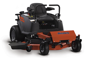 Simplicity - Model ZT1500 - Zero Turn Mower