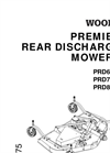 Rear Mount Finish Mowers PRD6000 Series- Brochure