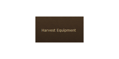 Harvest Equipment