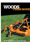 Finish - Model PRD6000 - Rear Mount Mowers - Brochure