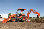 Kubota - Model L45 - Tractor Loader Backhoe