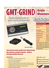 GMT-GRIND - Model 08201 - Portable Grain Moisture Tester Brochure
