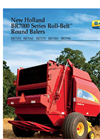 New Holland - Model BR7000 Series - Round Balers - Brochure