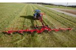 New Holland Agriculture - Model ProTed Series - Rotary Tedders