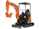 Hitachi - Model ZX17U-2 - Compact Excavators