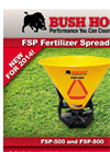 Bush Hog - FSP-500 and FSP-800 - Fertilizer Spreader Brochure