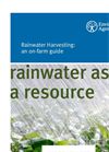 Rainwater Harvesting: An On-Farm Guide