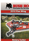 Bush Hog - 2212 - Flex Wing Rotary Cutter Brochure