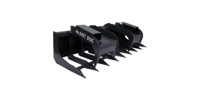 Dirt Dog - Model BRGR 84 - Skid Steer Brush Grapple Bucket