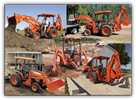 Kubata - Model TLB Series - Tractor/Loader/Backhoe