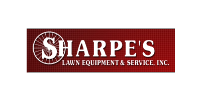 Sharpes Lawn Equipment Equipment.