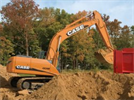 CASE - Model CX135SR - Excavators