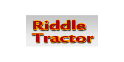 Riddle Tractor
