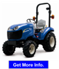 New Holland - Model 20-25HP - Boomer Tractor
