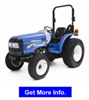 New Holland - Model 35 – 40HP - Compact Tractor