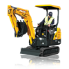 HYUNDAI - Model RI6-9 - Mini Excavator