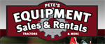 Pete's Equipment Sales and Rentals