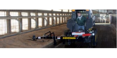 Sandman - Free Stall Bedding Management Attachment