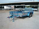 Model NTTP 77×14 - Tandem Axle Utility Trailer