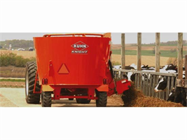 Kuhn - Model 5127 - Single-Auger Vertical Mixer