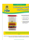 Advantage - Medicated Calf Formula Brochure