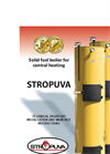 Model S20 – 20 kw - Firewood Boilers Brochure