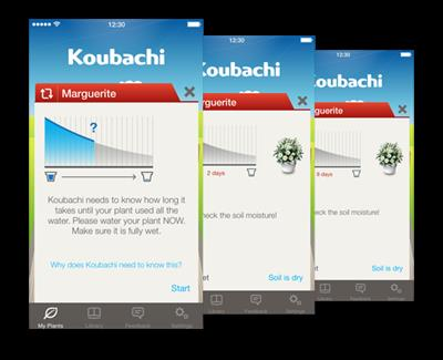 Koubachi - Plant Care Assistant App