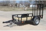 Maxey - Single Axle Utility Trailers