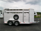 Cimarron - Model Lonestar - Livestock Trailers